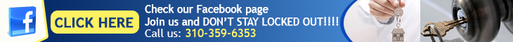 Join us on Facebook - Locksmith Culver City